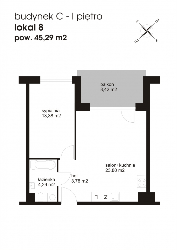 Mieszkanie C8