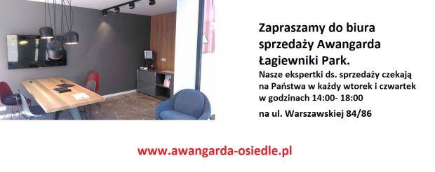 Biuro Sprzedaży na inwestycji Awangarda Łagiewniki Park