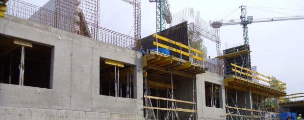 Kolejny- majowy etap budowy Awangarda Łagiewniki Park.