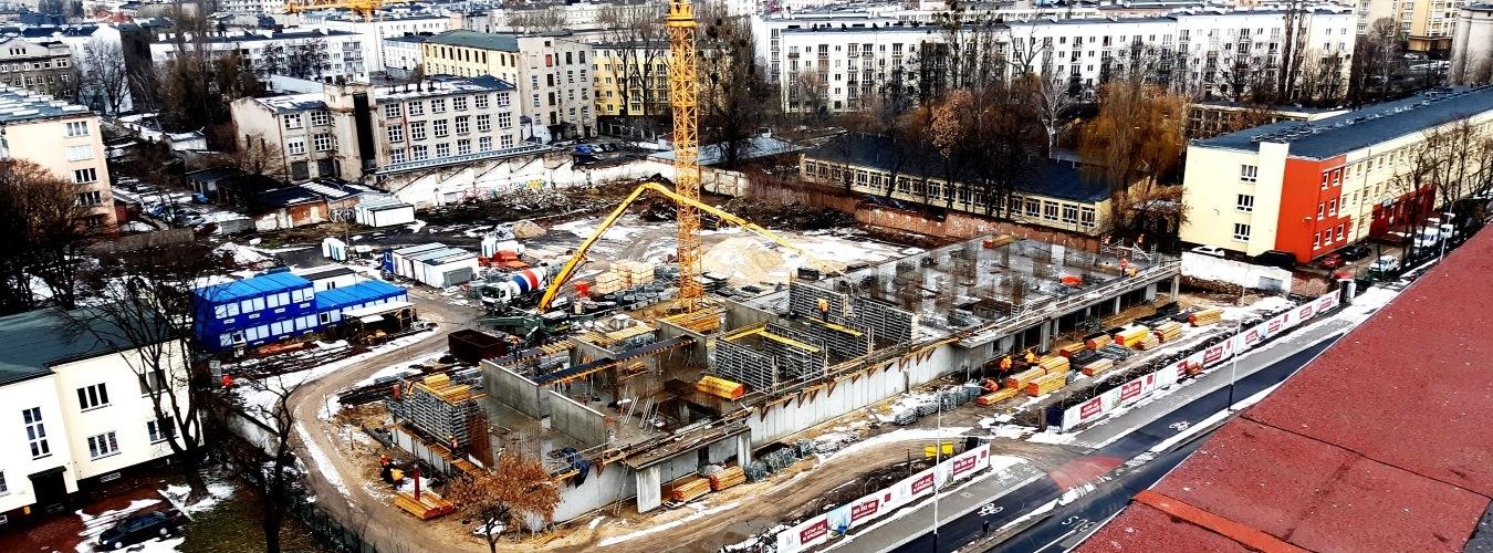 Neopolis-budowa pierwszego etapu