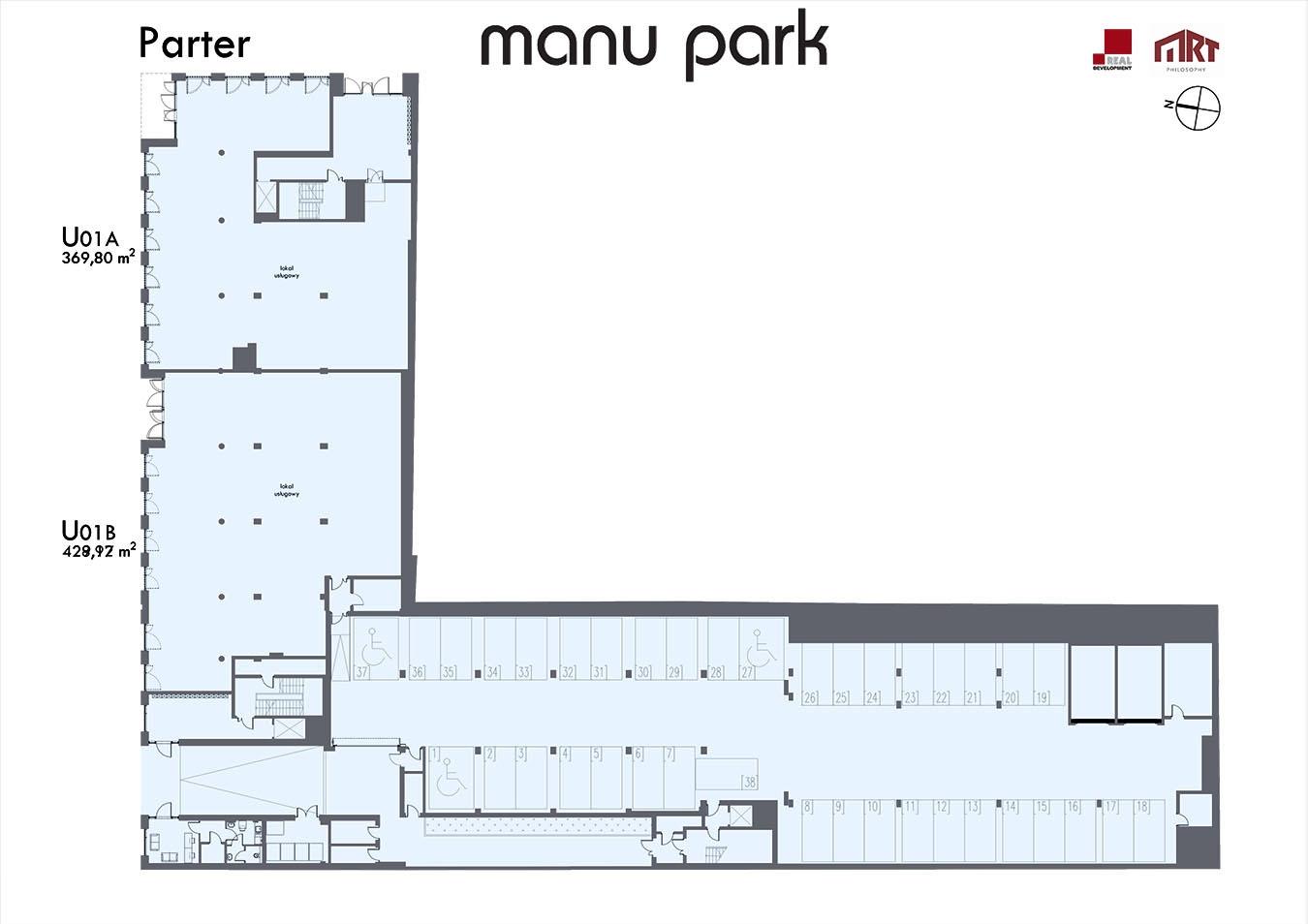 MANU PARK - Parter