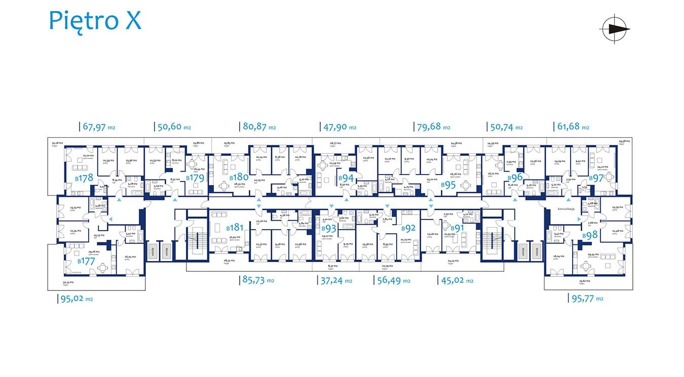 NEOPOLIS - Budynek B - Piętro 10
