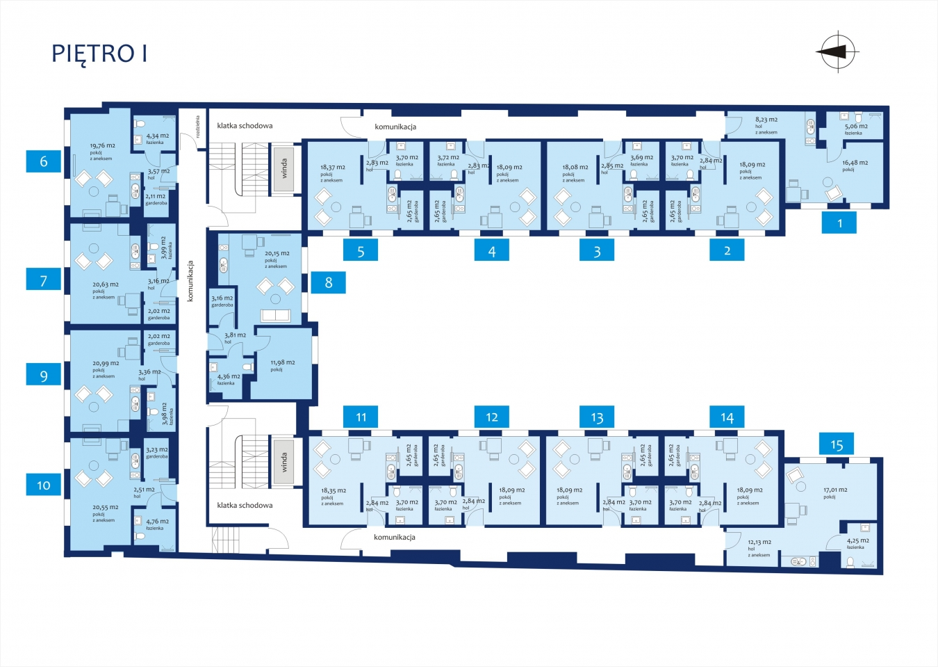 N23 - Piętro 1