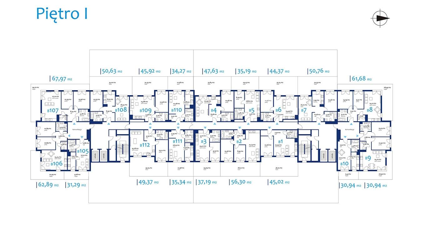 NEOPOLIS - Budynek B - Piętro 1