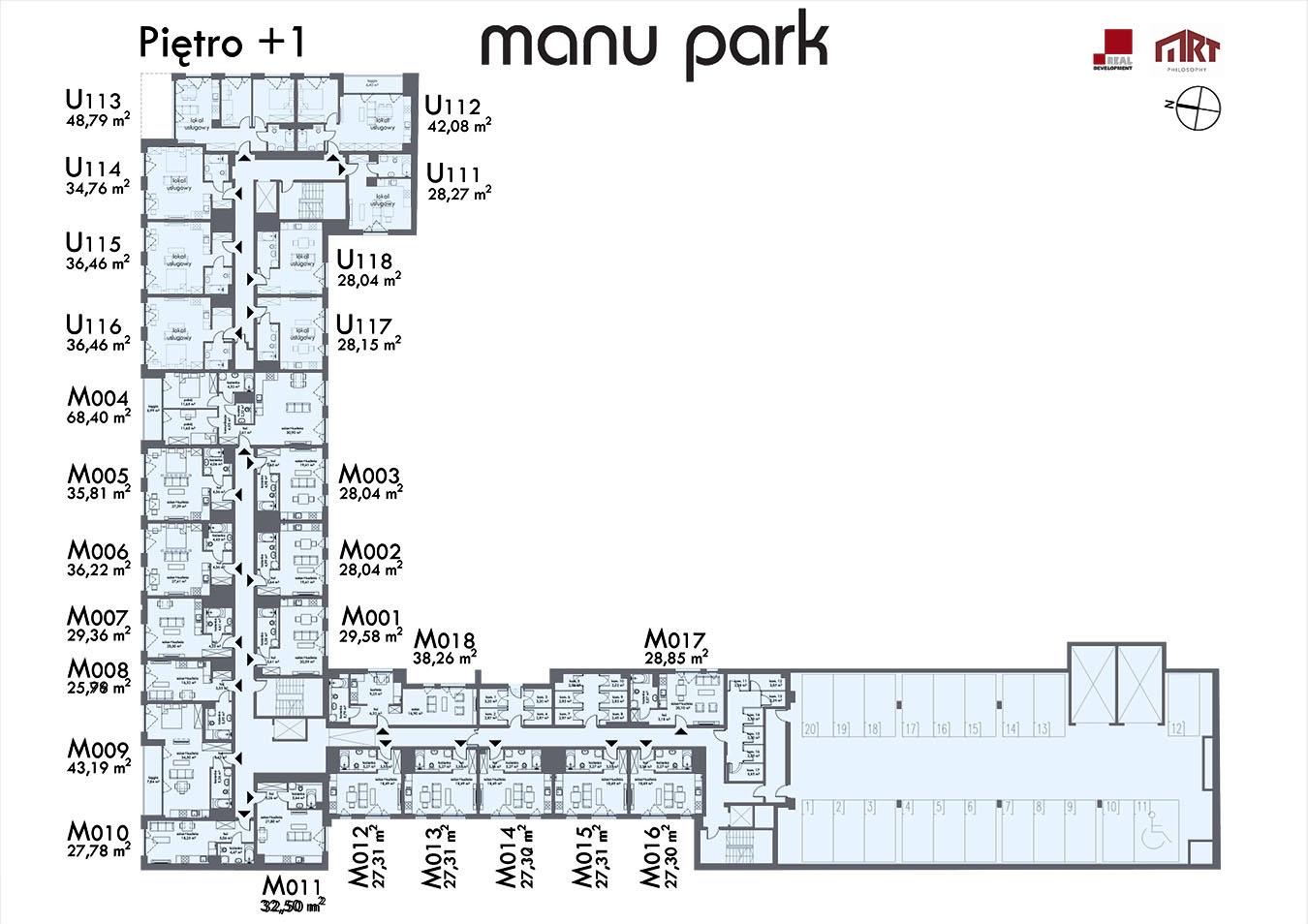 MANU PARK - Piętro 1
