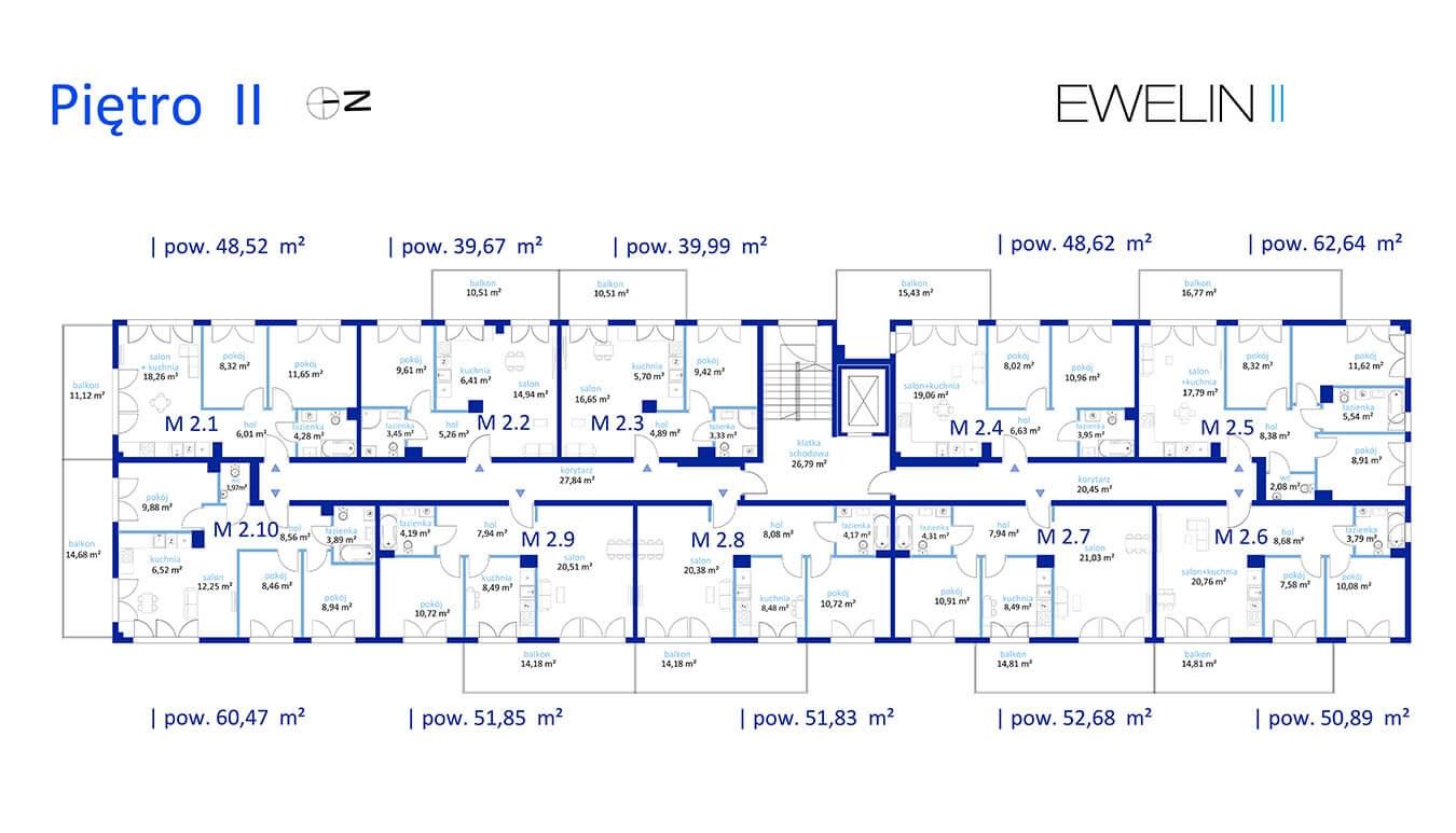 Ewelin II - Piętro 2