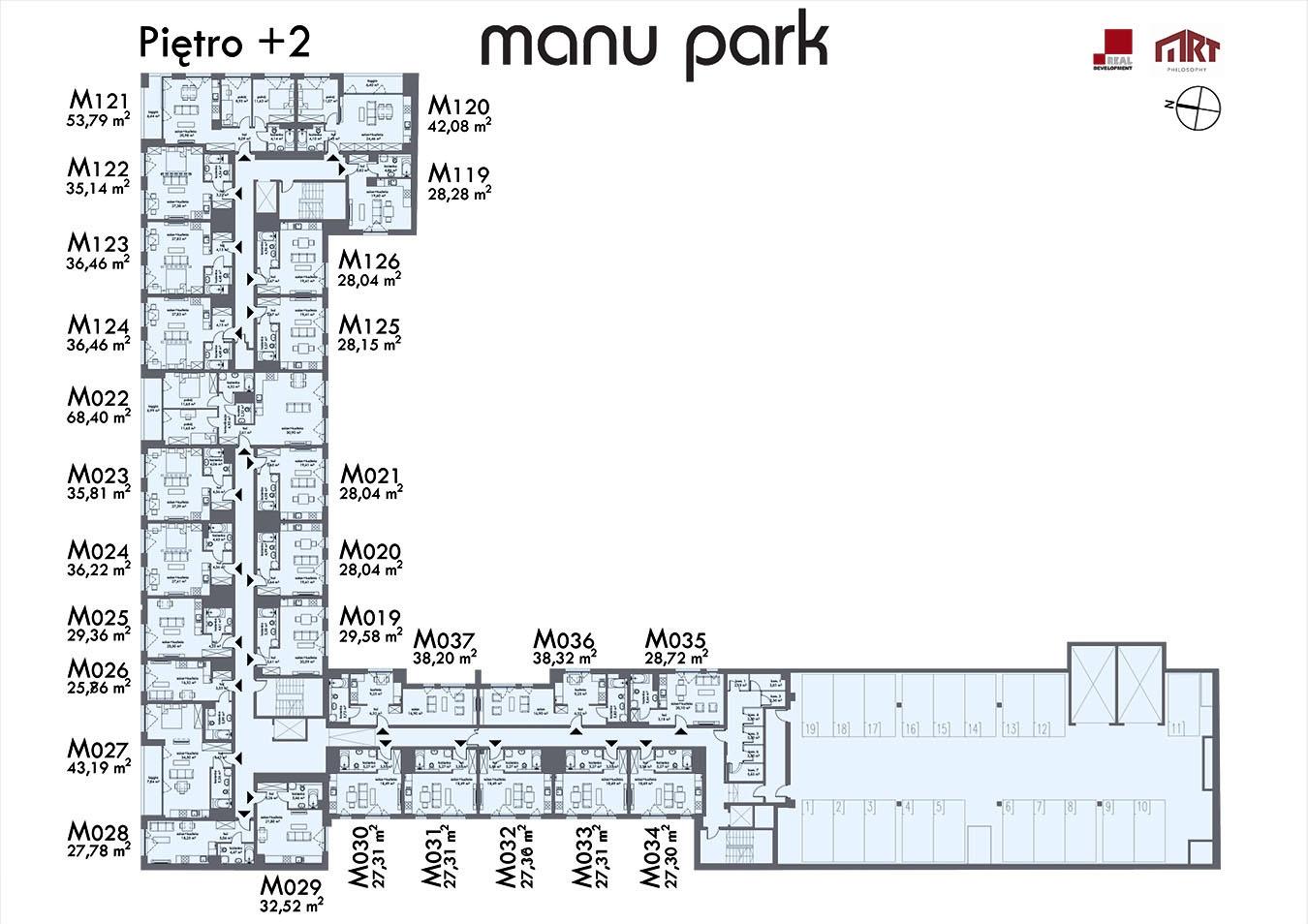 MANU PARK - Piętro 2