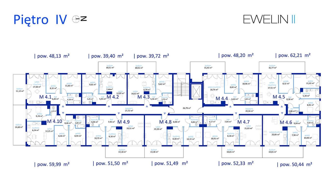 Ewelin II - Piętro 4