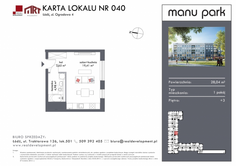Mieszkanie M040