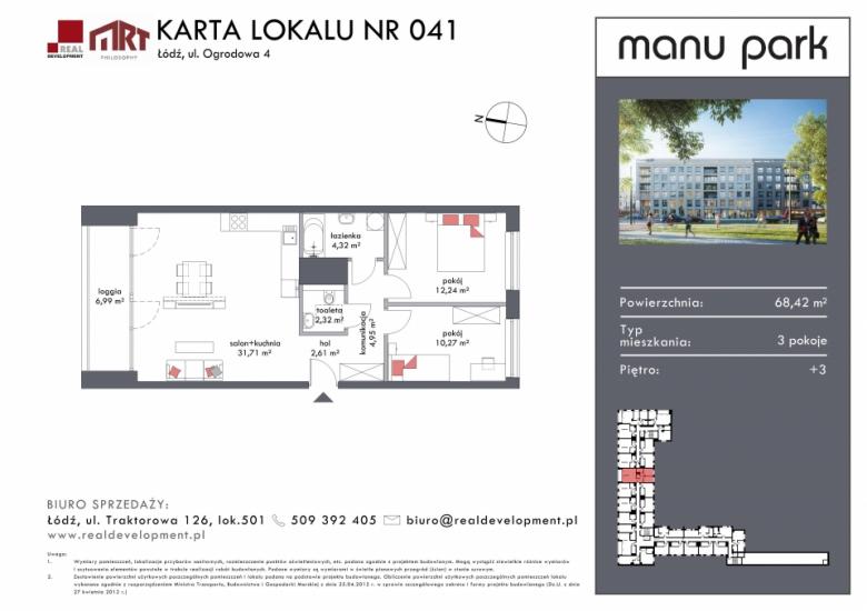 Mieszkanie M041