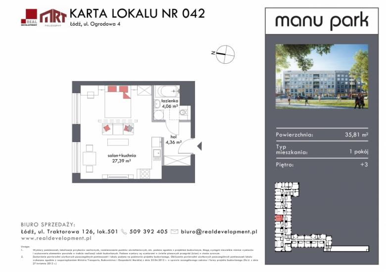 Mieszkanie M042