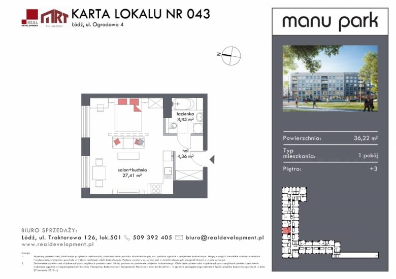 Mieszkanie M043