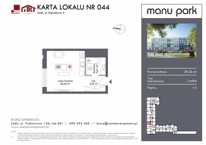 Mieszkanie M044