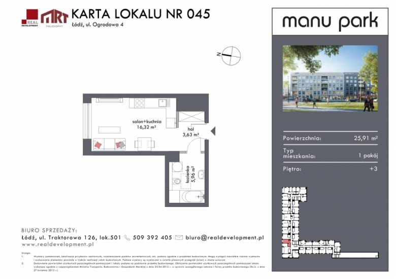 Mieszkanie M045