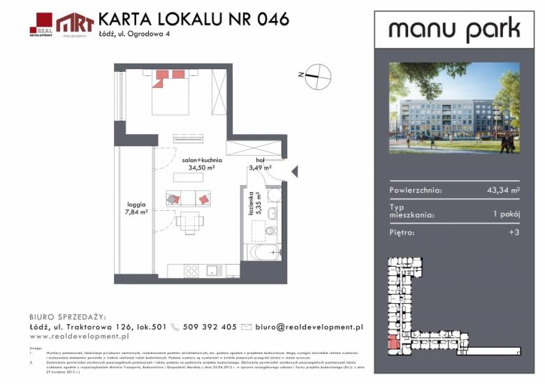 Mieszkanie M046