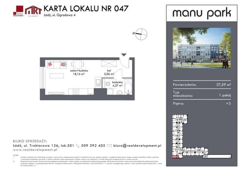 Mieszkanie M047