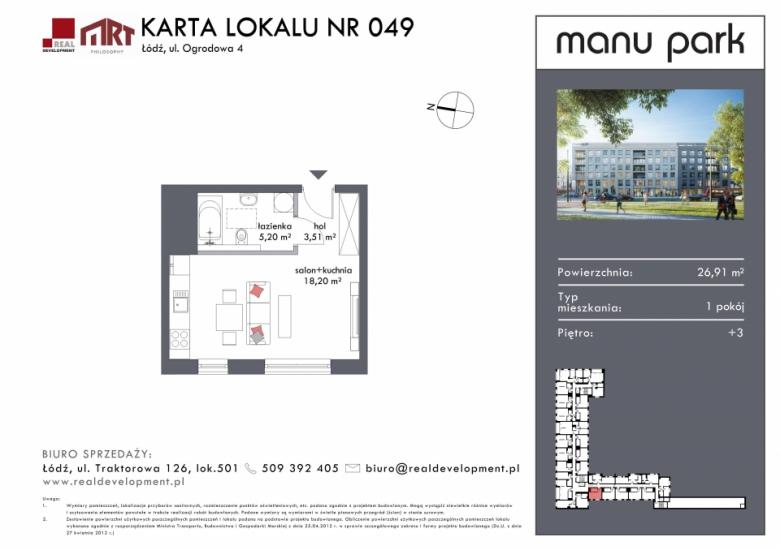 Mieszkanie M049