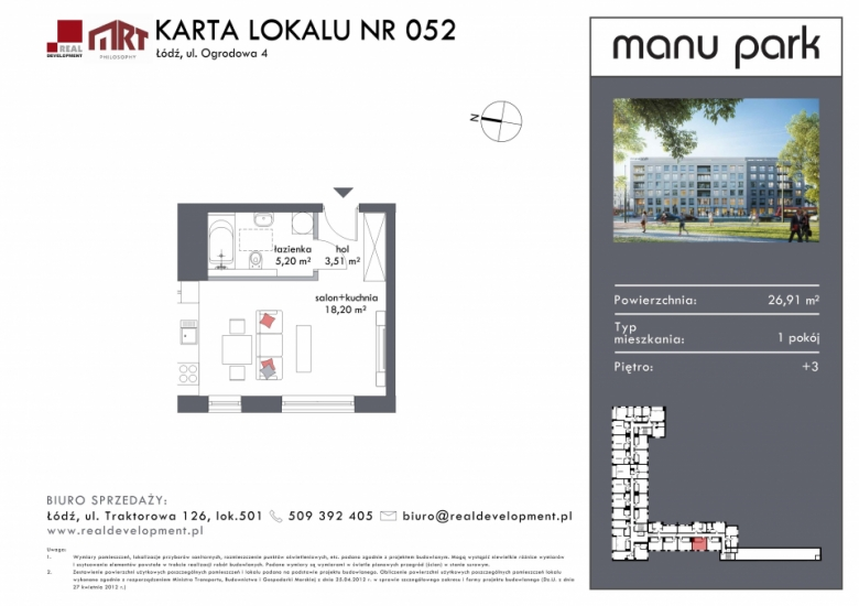 Mieszkanie M052