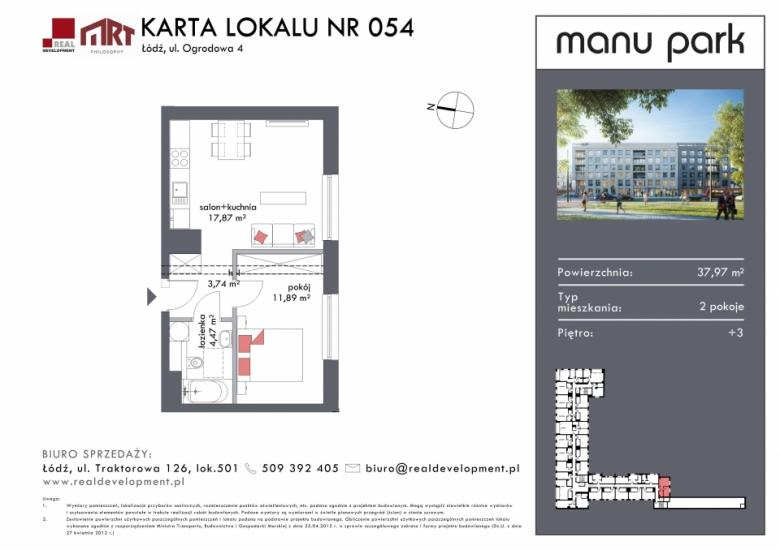 Mieszkanie M054