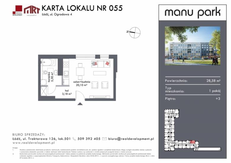 Mieszkanie M055
