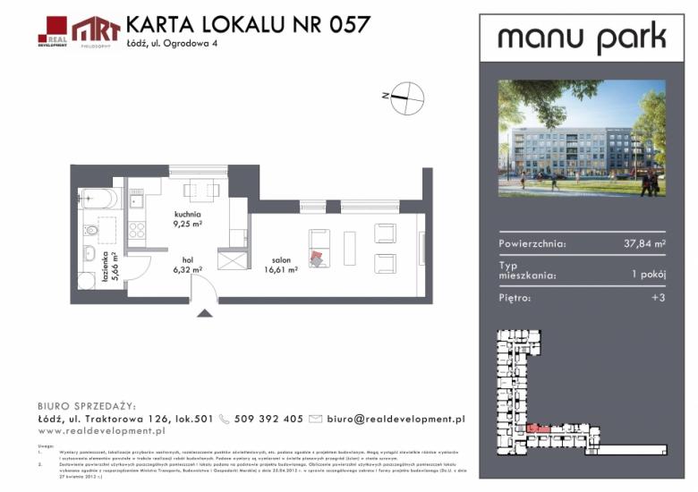Mieszkanie M057