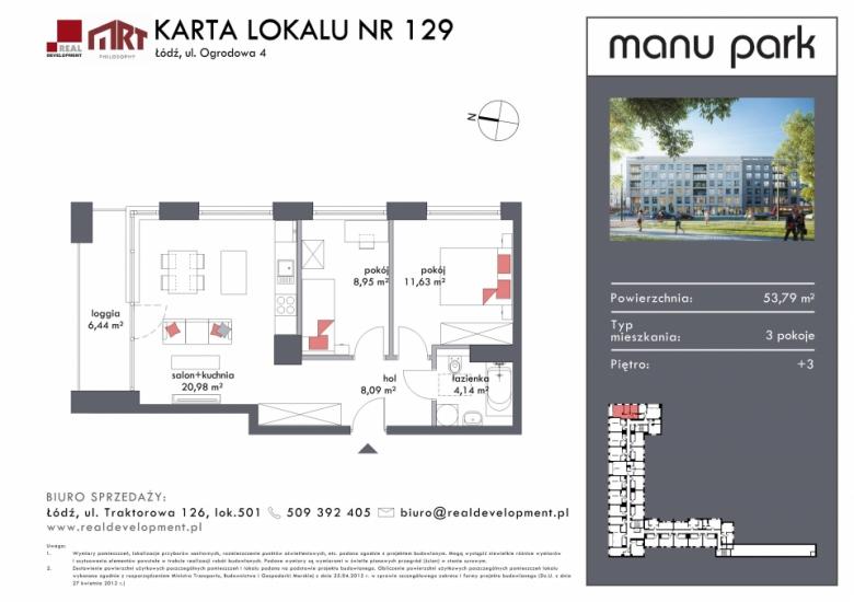 Mieszkanie M129