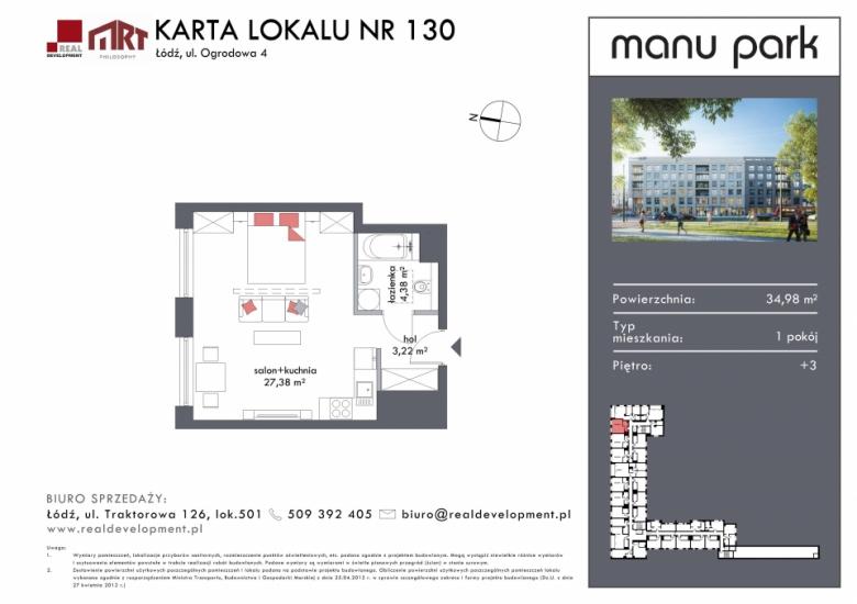 Mieszkanie M130