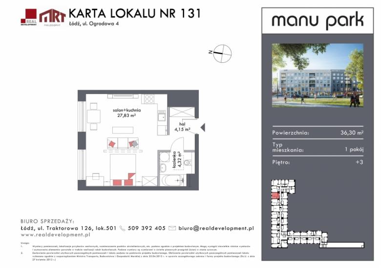 Mieszkanie M131
