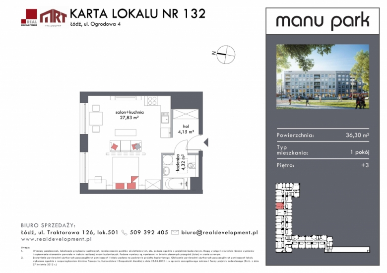 Mieszkanie M132