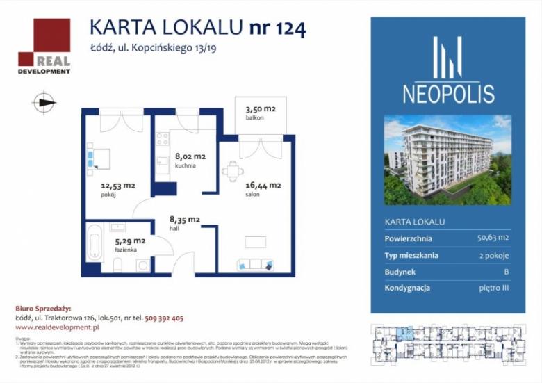 Mieszkanie nr 123