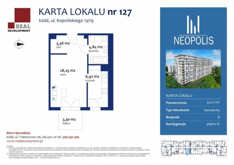 Mieszkanie 127