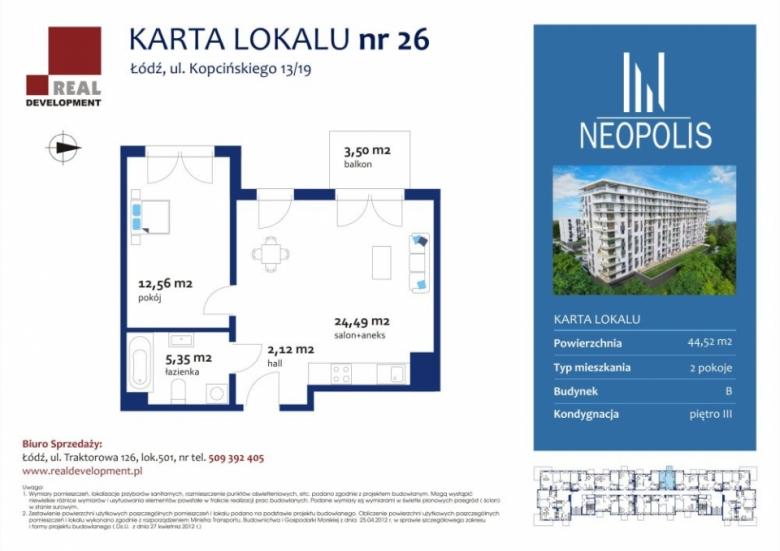 Mieszkanie 26