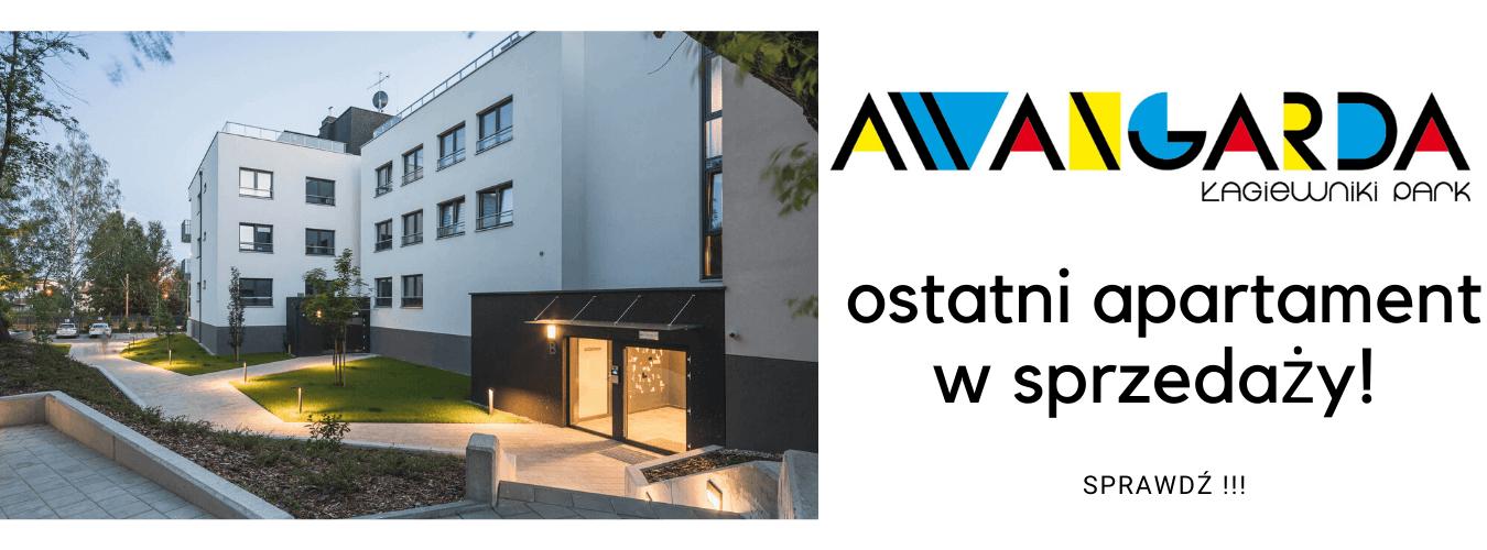 Ostatni dostępny apartament dwupoziomowy w inwestycji AWANGARDA ŁAGIEWNIKI PARK